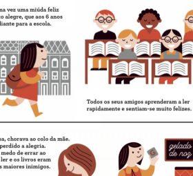Como está Projecto Escolas – A dislexia em Banda Desenhada?